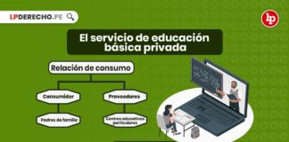 El servicio de educación básica privada a la luz de las normas de protección y defensa del consumidor con logo de LP