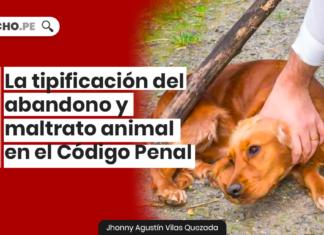 La tipificación del abandono y maltrato animal en el Código Penal con logo de LP
