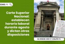 corte superior nacional-LP