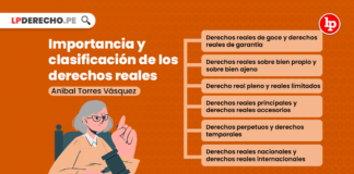 Importancia y clasificación de los derechos reales