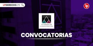 AMAG convocatorias - LPDerecho