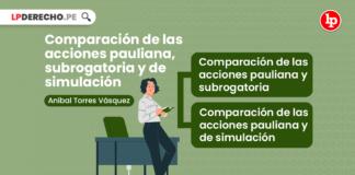 Comparación de las acciones pauliana, subrogatoria y de simulación