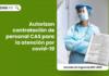 Autorizan contratación de personal CAS para la atención por covid-19