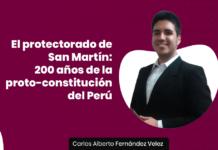 El protectorado de San Martín: 200 años de la proto-constitución del Perú con logo de LP