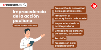 Improcedencia de la acción pauliana-LP