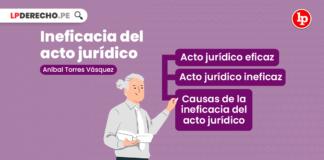 Ineficacia del acto jurídico