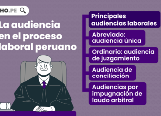 La audiencia laboral en el proceso laboral peruano-LP