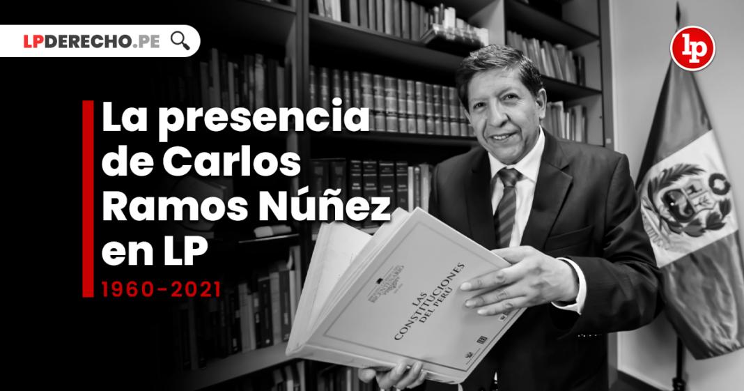 La presencia de Carlos Ramos Núñez en LP