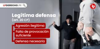 Legítima defensa (art. 20 CP)