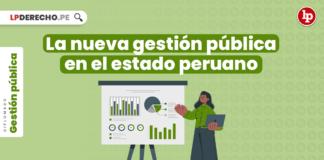 La nueva gestión pública en el estado peruano