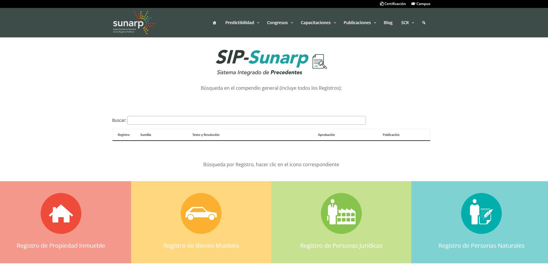 Precedentes de la Sunarp - LPDerecho