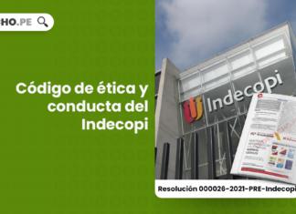Código de ética y conducta del Indecopi