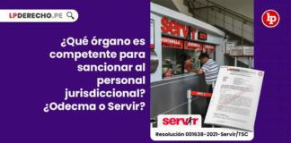 ¿Qué órgano es competente para sancionar al personal jurisdiccional? ¿Odecma o Servir?