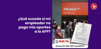 ¿Qué sucede si mi empleador no paga mis aportes a la AFP?