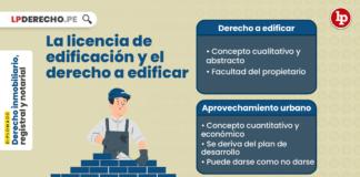La licencia de edificación y el derecho a edificar