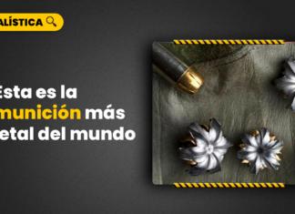 munición más letal del mundo