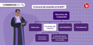 recurso de casación en la nueva ley procesal del trabajo
