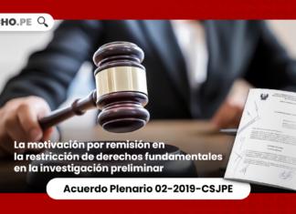 la motivación por remisión en la restricción de derechos fundamentales en la investigación preliminar