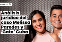 [VÍDEO] Análisis jurídico del caso Melissa Paredes y 'Gato' Cuba