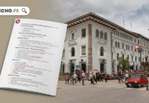 Balotario de temas jueces supernumerarios - LPDerecho