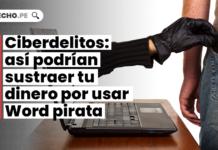 Ciberdelitos: así podrían sustraer tu dinero por usar Word pirata