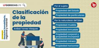 Clasificación de la propiedad