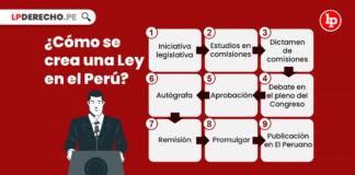 ¿Cómo se crea una Ley en el Perú?