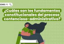 ¿Cuáles son los fundamentos constitucionales del proceso contencioso-administrativo?