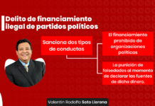 Delito de financiamiento ilegal de partidos politicos - LPDerecho