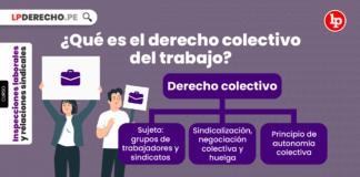 ¿Qué es el derecho colectivo del trabajo?