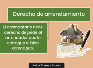 Derecho de Arrendamiento - LPDerecho