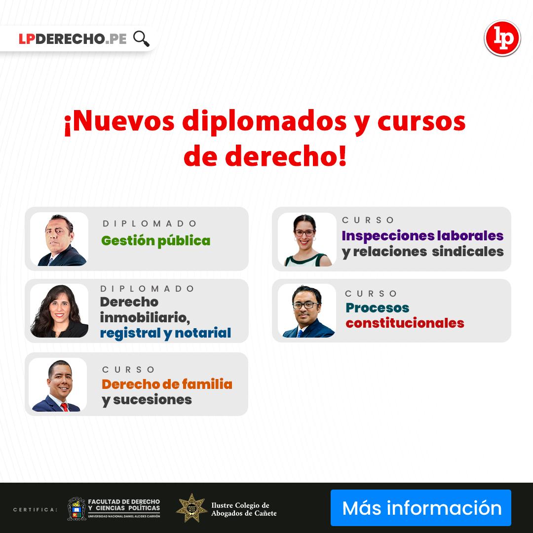 Diplomados octubre 2021 - LPDerecho