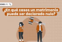 ¿En qué casos un matrimonio puede ser declarado nulo?
