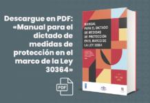 Descargue en PDF: «Manual para el dictado de medidas de protección en el marco de la Ley 30364»