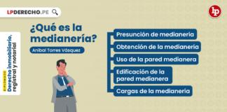 ¿Qué es la medianería?, explicado por Aníbal Torres Vásquez