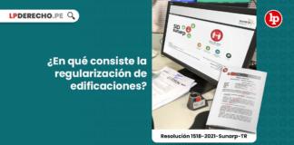 ¿En qué consiste la regularización de edificaciones?