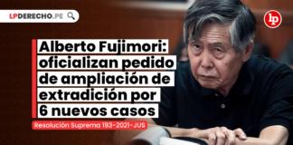 Alberto Fujimori: oficializan pedido de ampliación de extradición por 6 nuevos casos