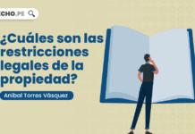 ¿Cuáles son las restricciones legales de la propiedad?, explicado por Aníbal Torres Vásquez