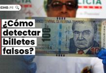 ¿Cómo detectar billetes falsos?