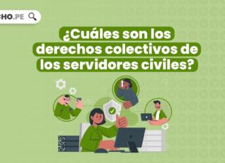 ¿Cuáles son los derechos colectivos de los servidores civiles?