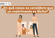 ¿En qué casos se considera que un matrimonio es ilícito?
