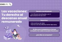 vacaciones en el ordenamiento peruano - LP derecho